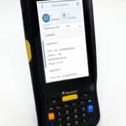 Newland Android Barcode Scanner mit numerischer Tastatur