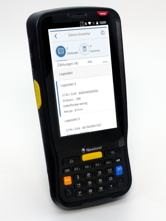 Newland MT-65 Android Barcode